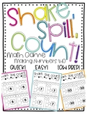 Shake, Spill, and Count: Making Numbers 4-10 Math Game