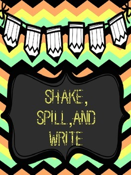 Shake, Spill, and Write Math