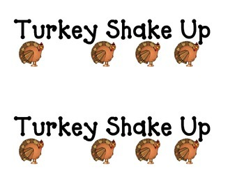 Shake Up:  Turkey