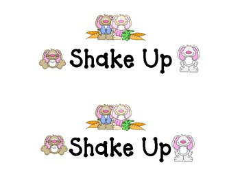 Shake-Up: Bunny Shake Up