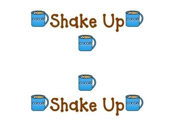 Shake Up:  Cocoa