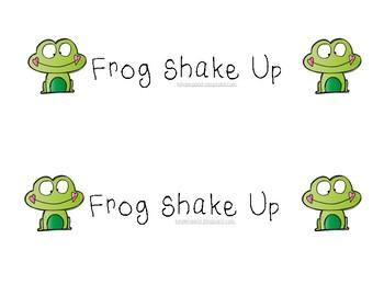 Shake-Up: Frog Shake Up