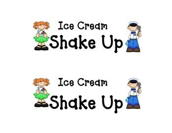 Shake-Up: Ice Cream Shake Up