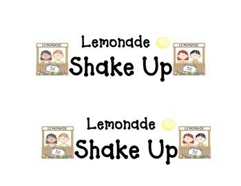 Shake-Up: Lemonade Shake Up
