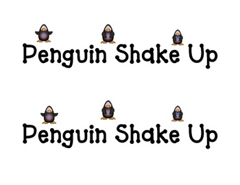 Shake Up: Penguin