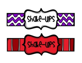 Shake-Ups - Fun Ways to Change Everyday Tasks