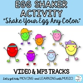 """Movement Activity Song: """"Shake Your Egg!"""" Egg Shakers, Vid"""
