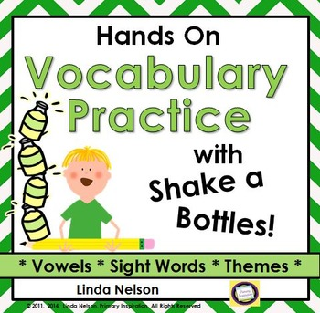 Shake-a-Bottle: Hands-on Practice with Vocabulary and Decoding