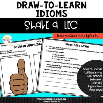 Shake a Leg - Draw to Learn Idioms