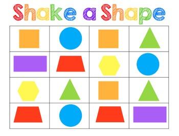 Shake a Shape {FREE}