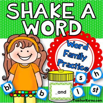 Word Families, Decoding, Phonics, & Fluency Tool
