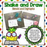Shake and Draw Blends and Digraphs