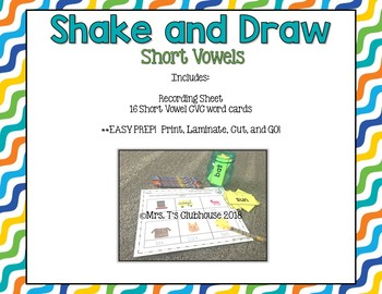 Shake and Draw Short and Long Vowels