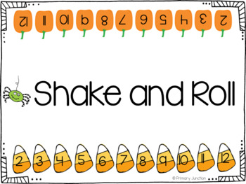 Shake and Roll - Monthly One-Digit Addition Dice Game