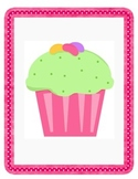 Shake and Spill Cupcake Composing 4 and 5