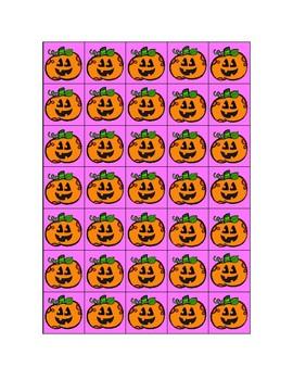 Shake and Spill - (Jack-o-lanterns)
