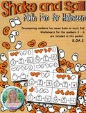 Shake and Spill - Math Fun for Halloween