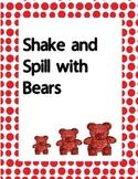 Shake and Spill with Bears Decomposing  K.OA.3  K.OA.4   K.NBT.1