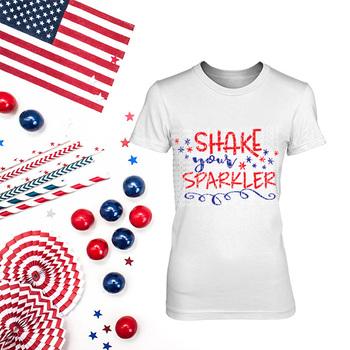 Shake your Sparkler SVG Cut File