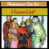 "Shakepeare's ""Hamlet"" Clip-Art Set-28 Pieces"