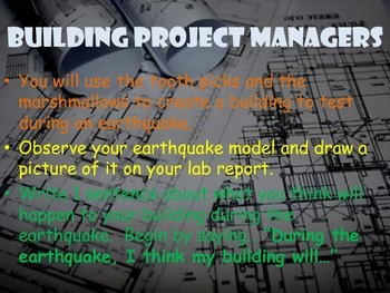 Shakes and Quakes! Earthquake Investigation PowerPoint