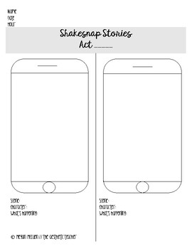 Shakesnap: A Snapchat and Shakespeare Activity