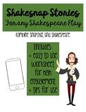 Shakesnap: A Snapchat and Shakespeare Activity