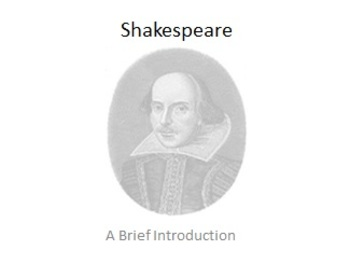 Shakespeare: A Brief Overview