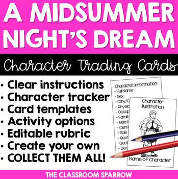 Shakespeare: A Midsummer Night's Dream Activity