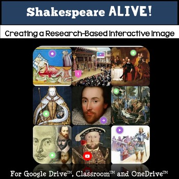 Shakespeare Research and the Elizabethan Era Tech Project: Shakespeare ALIVE!