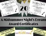Shakespeare Awards - A Midsummer Night's Dream