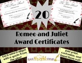 Shakespeare Awards - Romeo & Juliet