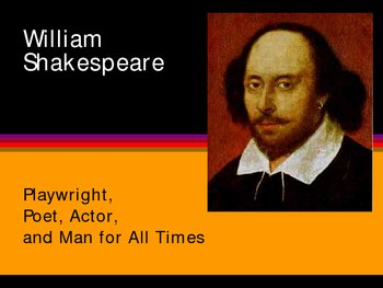 Shakespeare Background Slide Show