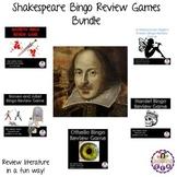 Shakespeare Bingo Review Games Bundle