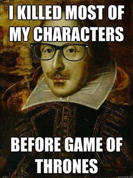 """Shakespeare: """"Brief and Naughty"""" Video Link with Questions"""