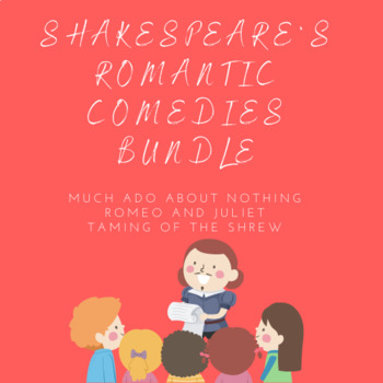 William Shakespeare - Three Texts Bundle - Distance Learning