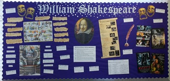 Shakespeare Classroom Display!