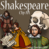 Shakespeare Clip Art