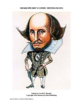 Shakespeare Comic Monologues