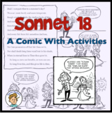 Sonnet 18 Comic with Shakespeare