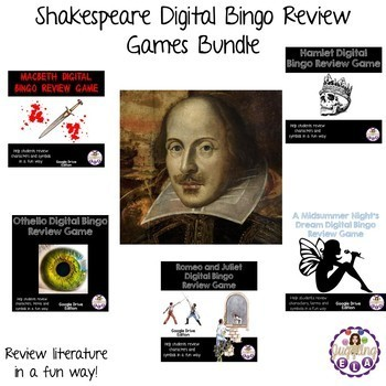 Shakespeare Digital Bingo Review Games Bundle