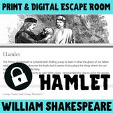 Hamlet - Shakespeare Digital Escape Room Game / Breakout