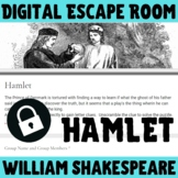 Hamlet - Shakespeare Digital Escape Room Game / Breakout  - NO PREP - Review