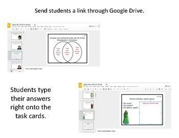 Shakespeare Digital Task Cards Bundle (Google Drive Edition)