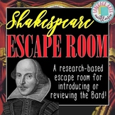 Shakespeare ESCAPE ROOM
