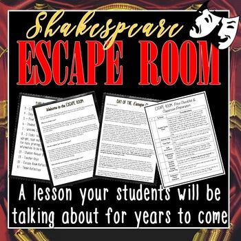 Shakespeare ESCAPE ROOM