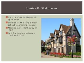 Shakespeare & Elements of Drama Intro
