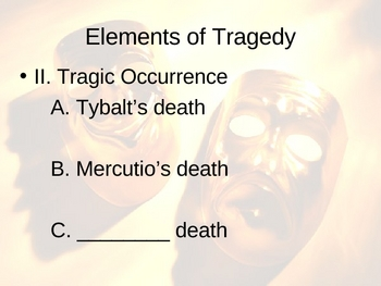Shakespeare Elements of Tragedy