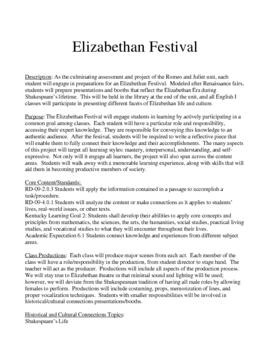 Shakespeare Elizabethan Festival