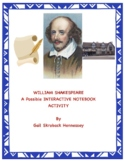 William Shakespeare:A Reading and Possible Interactive Notebook Activity